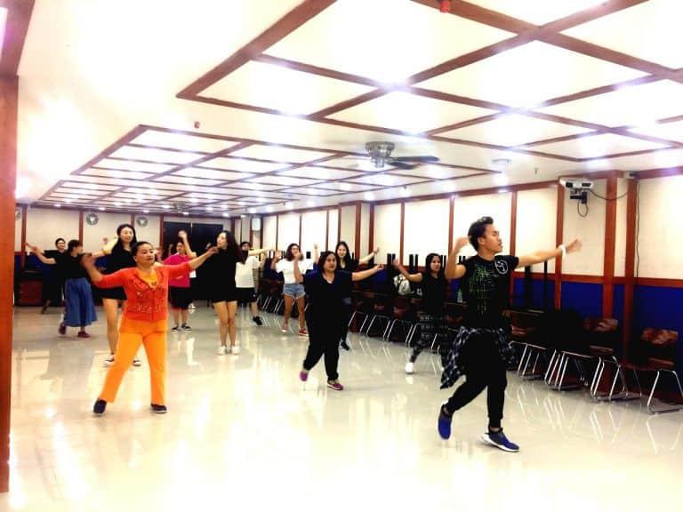 菲律宾碧瑶PINES语言学校舞蹈课