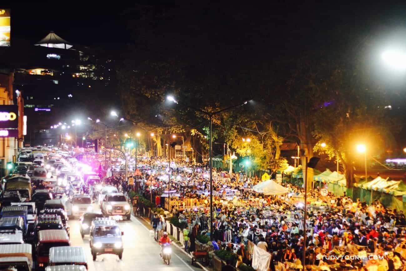 菲律宾碧瑶夜市
