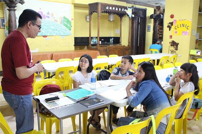 一年级学生菲律宾游学效果